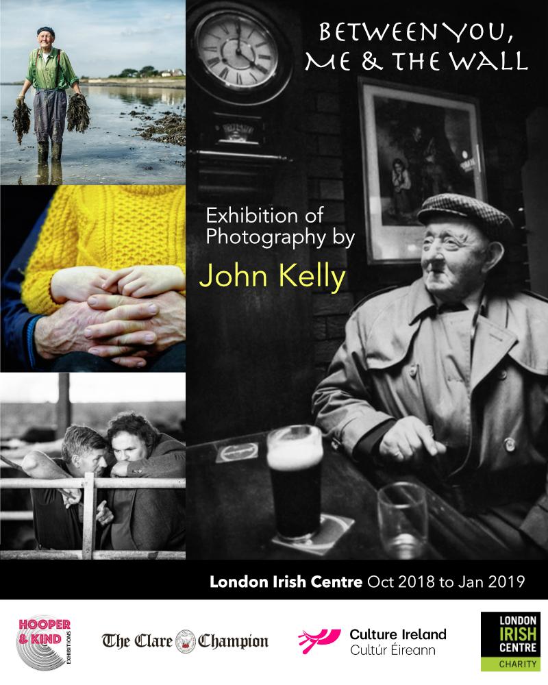 John Kelly Exhibition - London Irish Centre Sept 2018