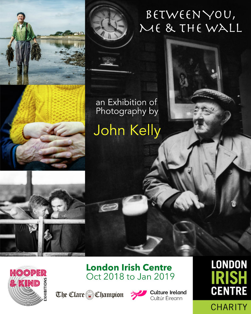 John Kelly Exhibition - London Irish Centre Sept 2018 - 800